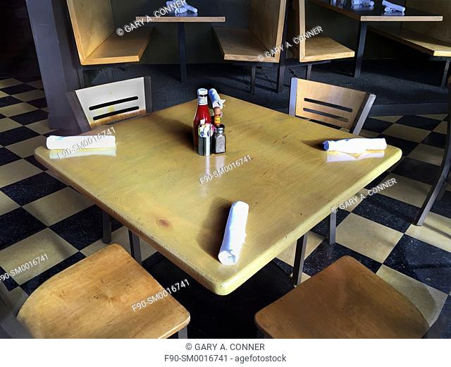 Restaurant table in Denver, CO