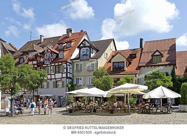Palace Square, Toompea, Meersburg, Lake Constance, Baden-Württemberg, Germany