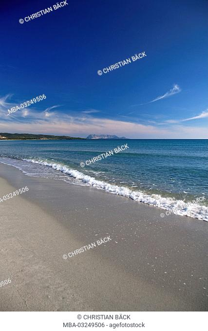 Beach of Porto Ainu, near Budoni, Gallura, East sardinia, Sardinia, Italy, Europe