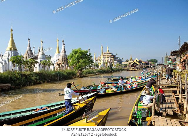 Myanmar , Inle Lake , Iwama City ,