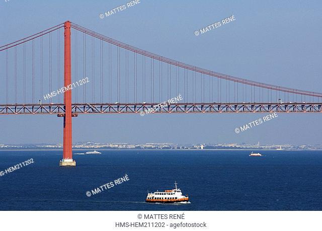Portugal, Lisbon, 25 de Abril Bridge