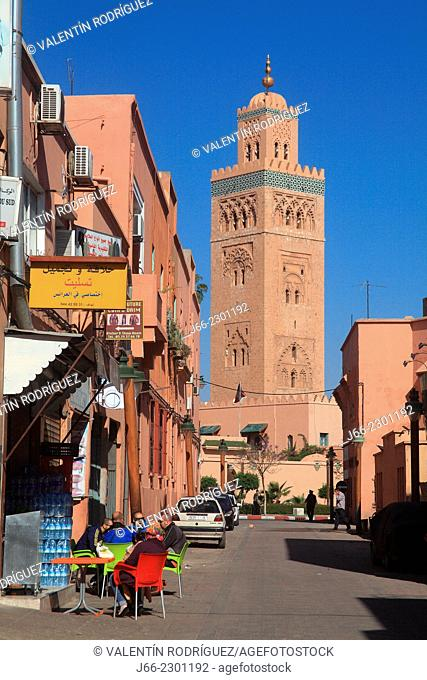 Koutoubia tower. Marrakech