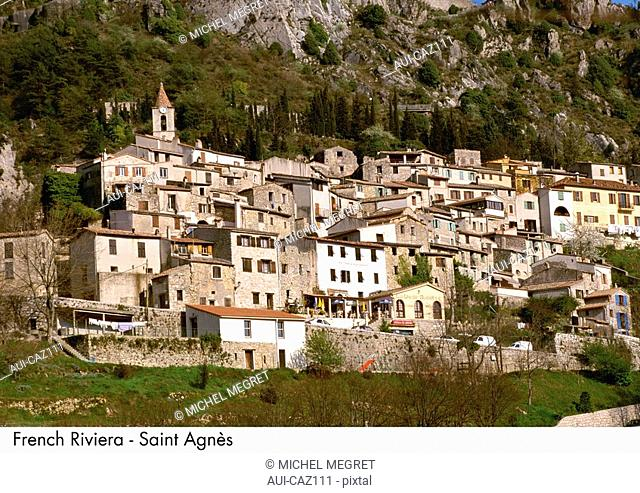 French Riviera - Saint Agnes