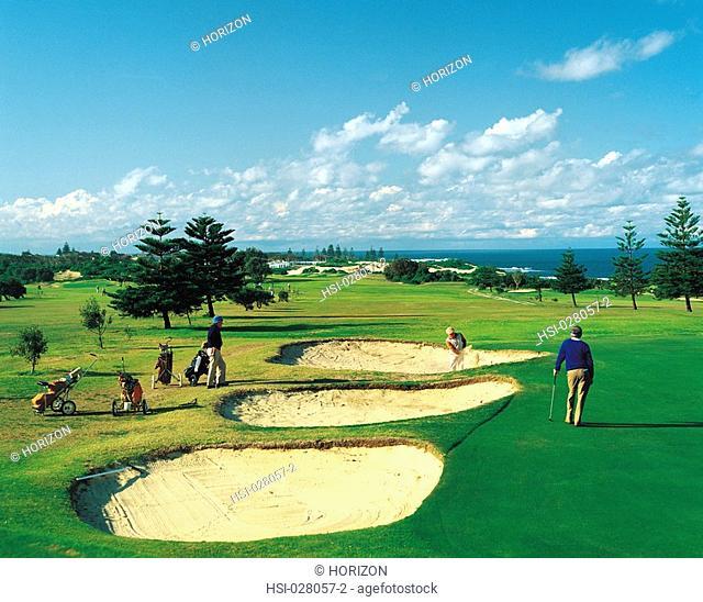 Travel, Australia, New South Wales, Bateau Bay, Golf course