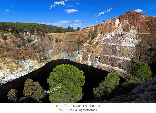Opencast Mine La Corta, La Zarza, Huelva-province, Huelva, Spain