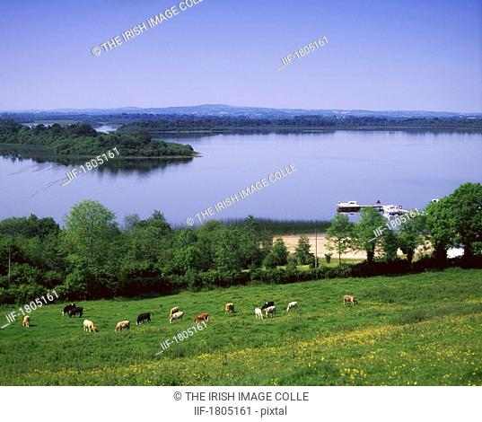 River Cruising, Upper Lough Erne, Derrylin, Co Fermanagh, Ireland