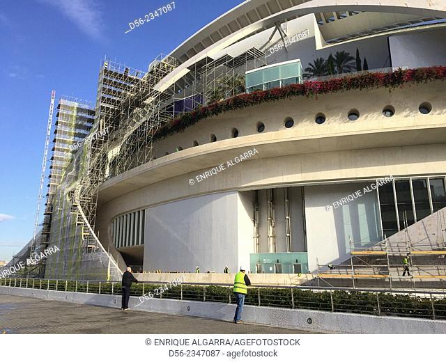 City of Arts and Sciences, by Santiago Calatrava, Valencia, Spain