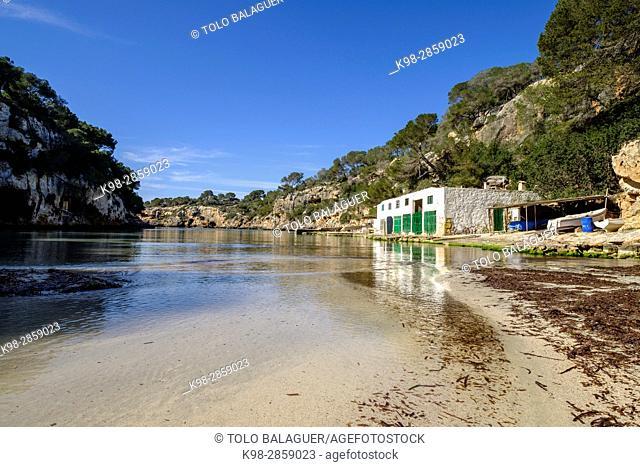 Escars de Cala Pi, Municipality of Llucmajor, Mallorca, balearic islands, spain, europe