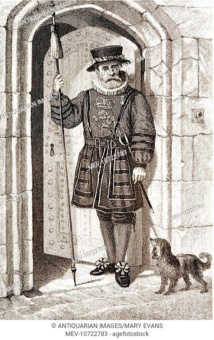 Tower Of London - A Beefeater