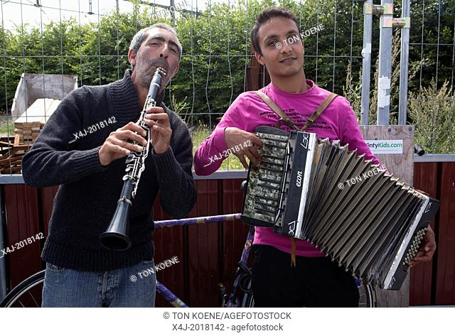 gipsy musicians in Holland