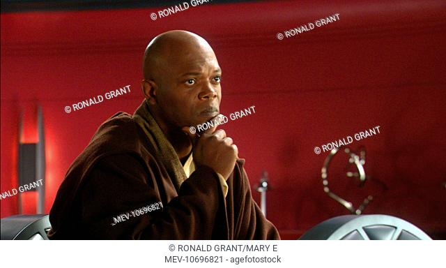 STAR WARS: EPISODE II - ATTACK OF THE CLONES SAMUEL L JACKSON STAR WARS: EPISODE II - ATTACK OF THE CLONES SAMUEL L JACKSON