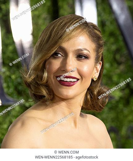 American Theatre Wing's 69th Annual Tony Awards at Radio City Music Hall - Red Carpet Arrivals Featuring: Jennifer Lopez Where: New York, New York