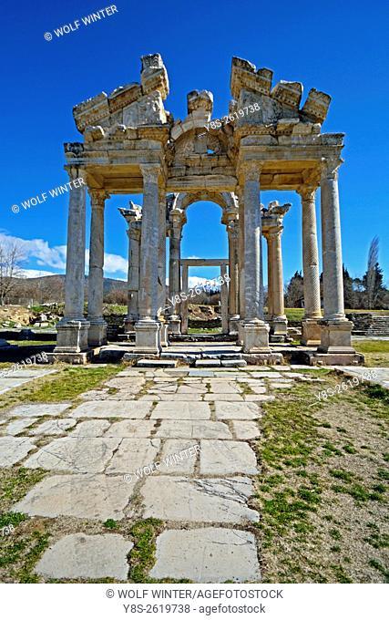 Museum of Aphrodisias. Tetrapylon