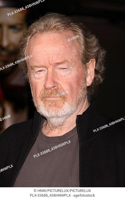 """Ridley Scott 06/03/10 """"""""The A-Team"""""""" Premiere @ Grauman's Chinese Theatre, Hollywood Photo by Megumi Torii/HNW / PictureLux (June 3, 2010)"""