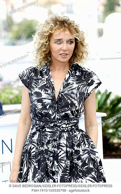 Valeria Golino at the 'Euforia' photocall during the 71st Cannes Film Festival at the Palais des Festivals on May 15, 2018 in Cannes, France