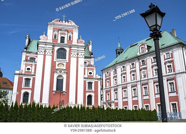 Jesuit Parish Church, City of Poznan, Jesuit College, Poznan, Poland