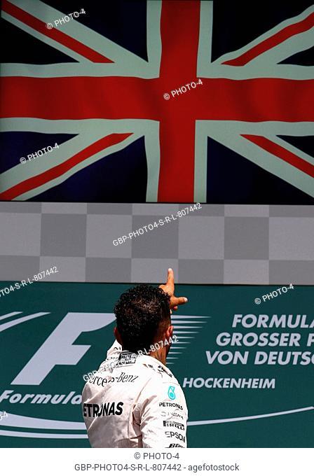 31.07.2016 - Race, Lewis Hamilton (GBR) Mercedes AMG F1 W07 Hybrid race winner