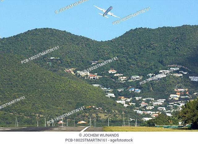 Sint Maarten, the Princess Juliana International Airport