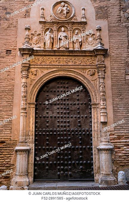 Details, Doors in Toledo city, Toledo, Castilla-La Mancha, Spain, Europe