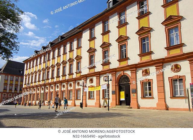 Altes Schloss (Old Castle), Maximilian street, Bayreuth, Upper Franconia, Franconia, Bavaria, Germany