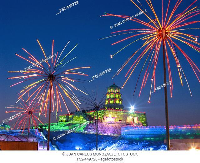 Ice Festival. Harbin. China
