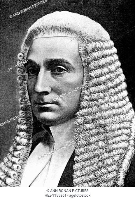 Rufus Daniel Isaacs, British lawyer and statesman, 1905. Isaacs (1860-1935), served as Lord Chief Justice of England (1913-1921)