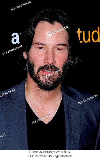 Keanu Reeves at the Premiere of The Neon Demon held at ArcLight Cinemas Cinerama Dome in Hollywood, CA, June 14, 2016. Photo by Joe Martinez / PictureLux