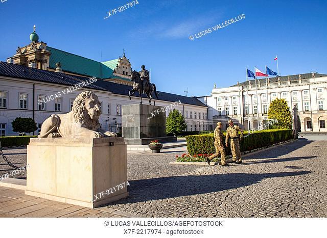 Presidential Palace,Warsaw, Poland
