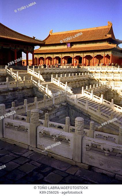Forbbiden City. Beijing. China