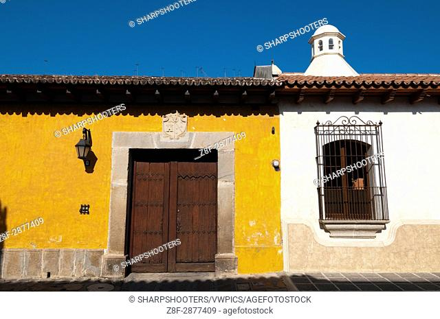 Colonial buildings, Antigua, Guatemala