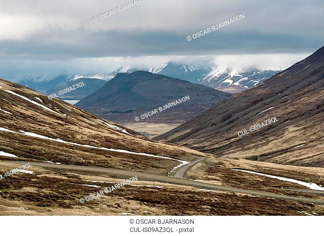 Mountain landscape, Westfjords, Iceland