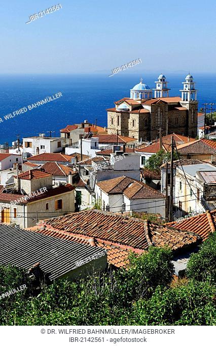 Marathocampos, Samos island, southern Sporades, Aegean sea, Greece, Europe