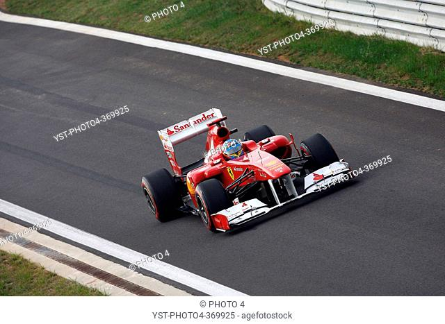 Qualifying, Fernando Alonso ESP, Scuderia Ferrari, F-150 Italia, F1, Korean Grand Prix, Yeongam, Korean