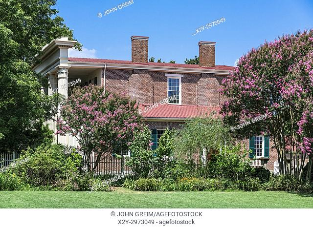 The Hermitage is a historical plantation and museum which was previously the home of President Andrew Jackson, Tennessee, USA