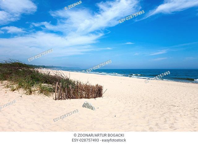 Beach at Baltic Sea in Wladyslawowo