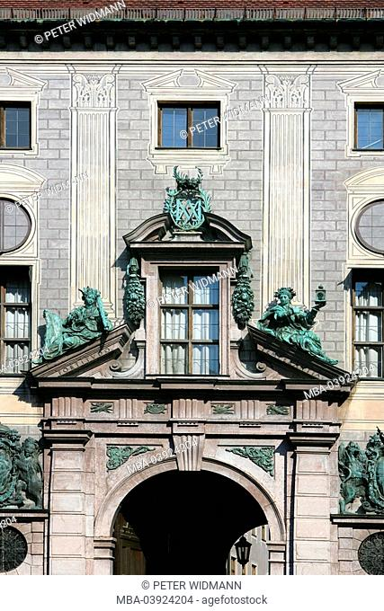 Germany, Bavaria, Munich, residence, facade