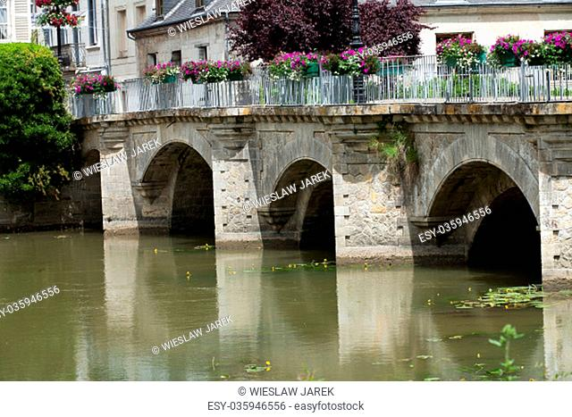 Old bridge in Azay Le Rideau.Loire Valley, France