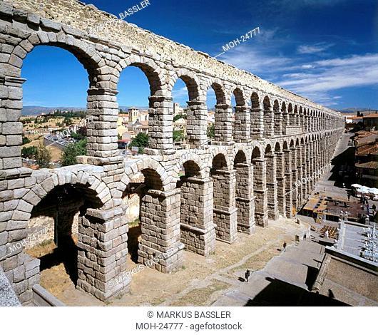 Segovia/Aquädukt, erbaut unter Trajan 98-117