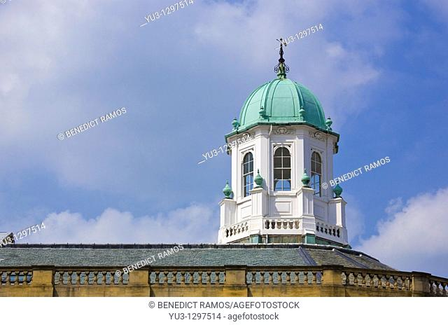 Sheldonian theatre cupola and roof, Oxford University, Oxford, Oxfordshire, England, UK