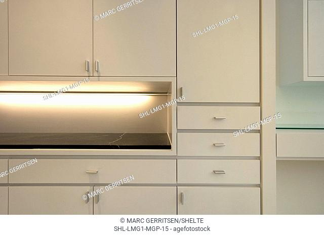Built In Wall Dresser Stock Photo Picture And Rights