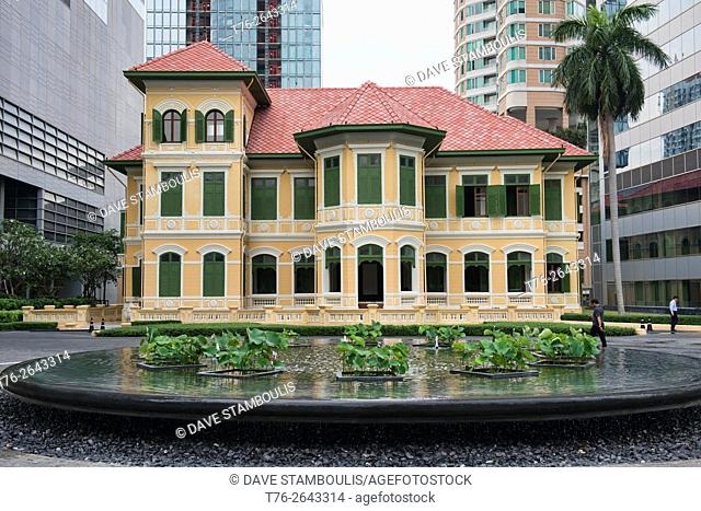 The beautiful colonial House on Sathorn, Bangkok, Thailand