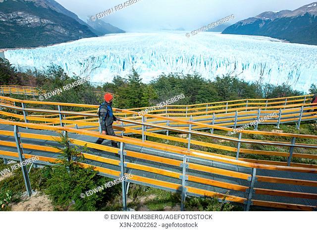 Ramps Leading to Glacier, Perito Moreno Glacier