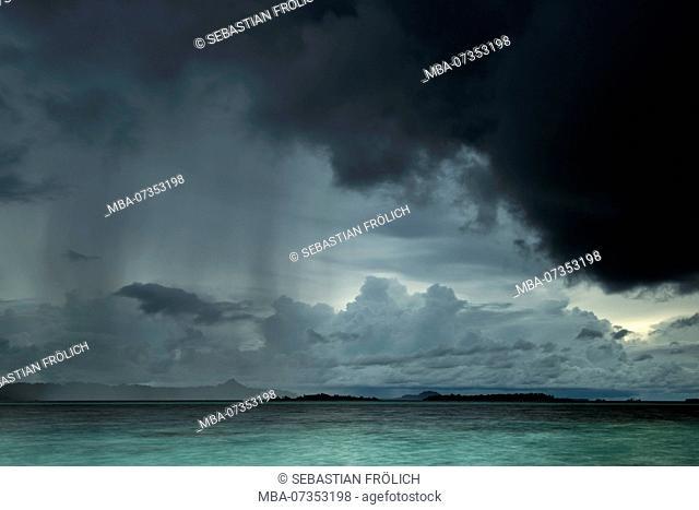 Storm on Banyak Island Haloban
