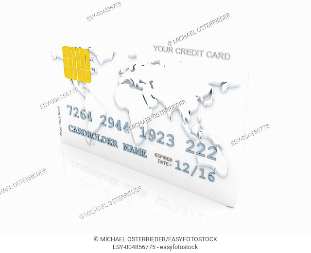 3D rendered Illustration  Isolated on white