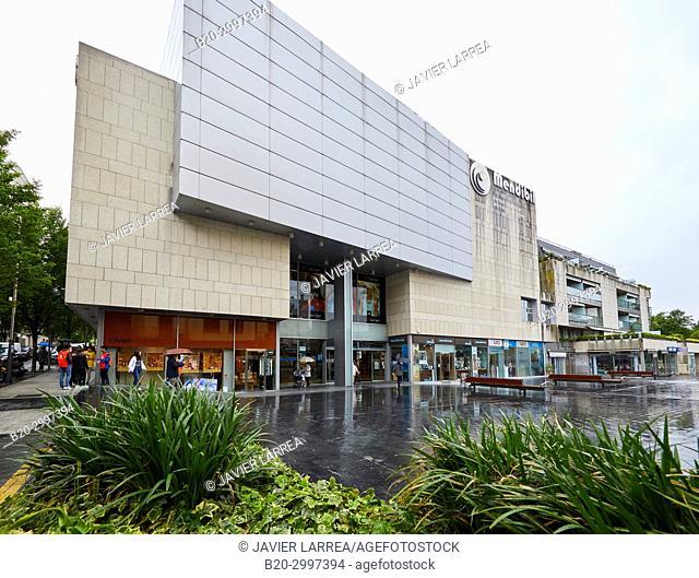 Mall, Centro Comercial Mendibil, Irun, Gipuzkoa, Basque Country, Spain
