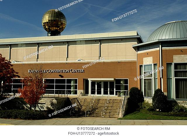 Knoxville, TN, Tennessee, Downtown, Knoxville Convention Center, 1982 World's Fair Sunsphere