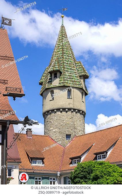 The Green Tower, Ravensburg, Baden-Wurttemberg, Germany