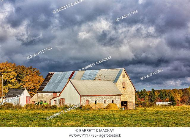 Barns, Kingston Road, Tyrone, Prince Edward Island, Canada