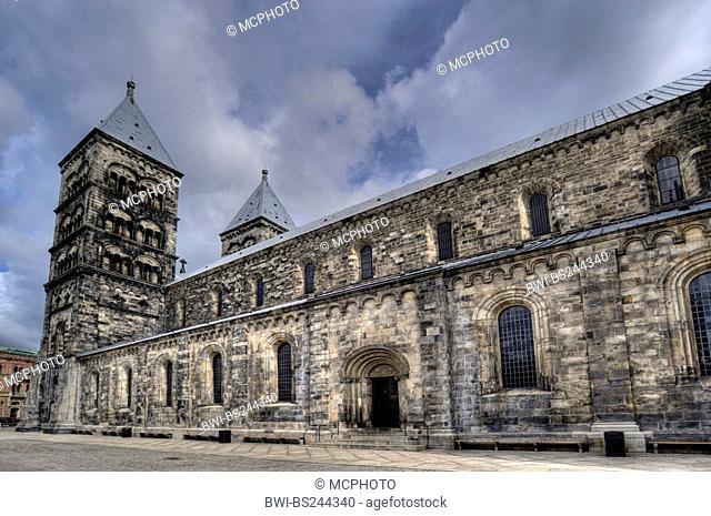 cathedral Lunds domkyrka, Sweden, Lund