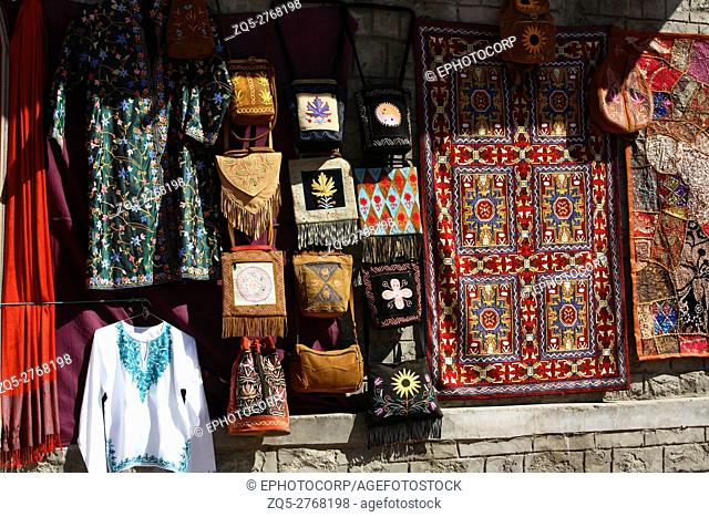 Local handicraft of Leh, Ladakh, Jammu and Kashmir, India